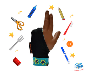 Turquoise Star Grip Wizard, Fine Motor and Handwriting Magic Glove