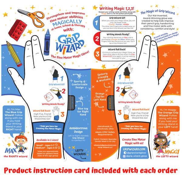 Space Magic Grip Wizard Fine Motor and Handwriting Magic Glove