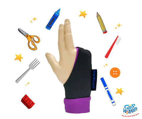 *Purple* Grip Wizard, Fine Motor and Handwriting Magic Glove