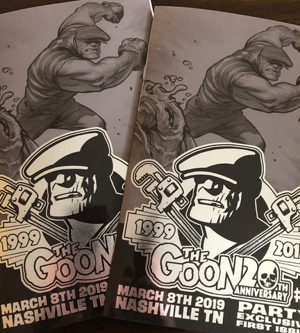 The Goon #1 20th Anniversary Party Exclusive