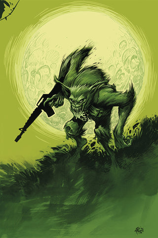 NAMWOLF #1 Eric Powell Special edition cover