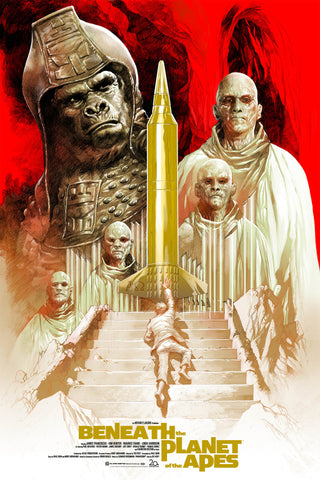 Mondo Beneath the Planet of the Apes poster