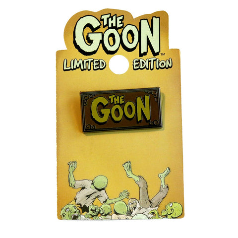 RARE! Limited Edition Trading Pin- THE GOON LOGO (Chinatown)