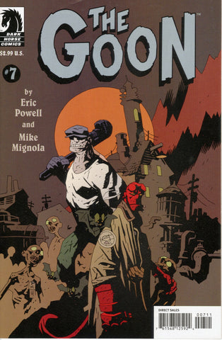 The Goon #7 Goon/ Hellboy Crossover