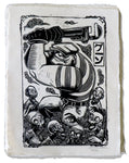 THE GOON Woodblock Print