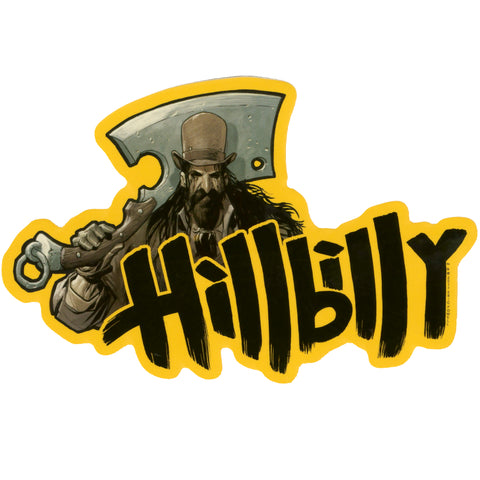 Hillbilly Sticker