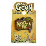 RARE! Limited Edition Trading Pin- NORTON'S PUB