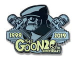 Goon 20th Anniversary lapel pin