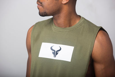 Cerus Superior Khaki Tank Top