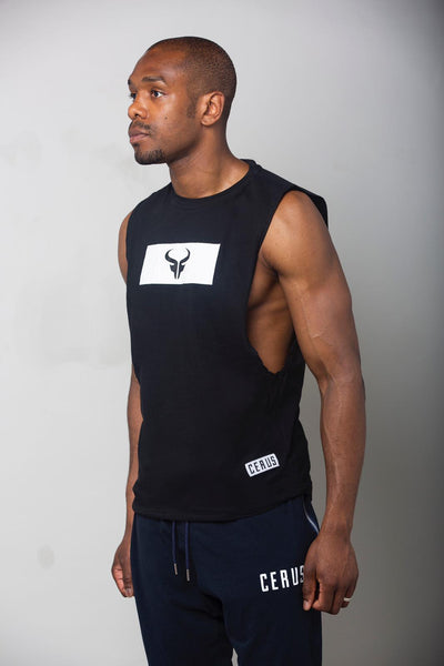 Cerus Superior Black Tank Top-Cerus