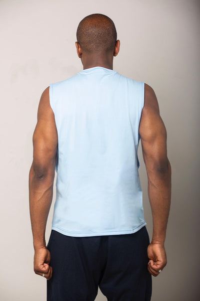 Cerus Superior Blue Tank Top-Cerus