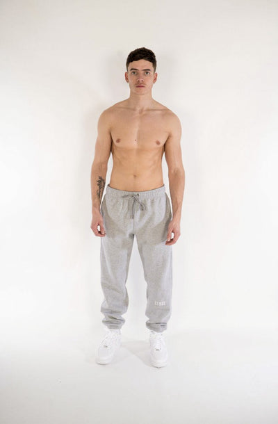 Cerus Slim Fit Grey Legacy Sweatpants-Cerus