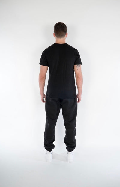 Cerus Slim Fit Black Legacy Sweatpants-Cerus