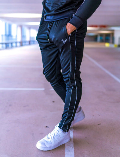 Cerus Black Element Slim Fit Jogging Bottoms-Cerus