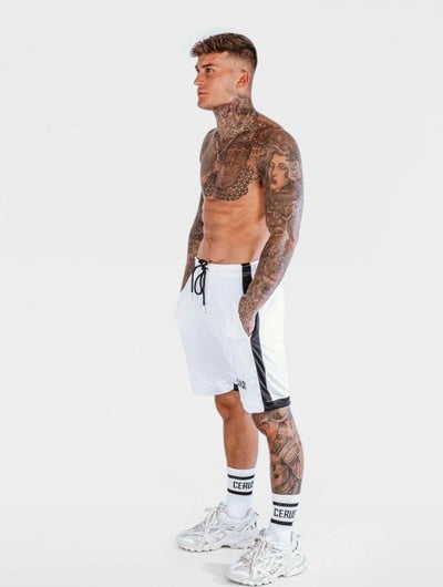 Cerus White Nero Shorts-Cerus