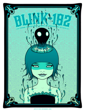 Blink-182 Artist Proof