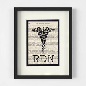 RDN Registered Dietitian Nutritionist