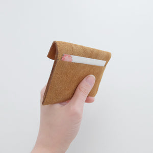 scalloped cardholder back