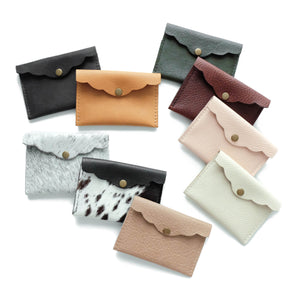 Scalloped Edge Cardholder Flat (Online Exclusive)