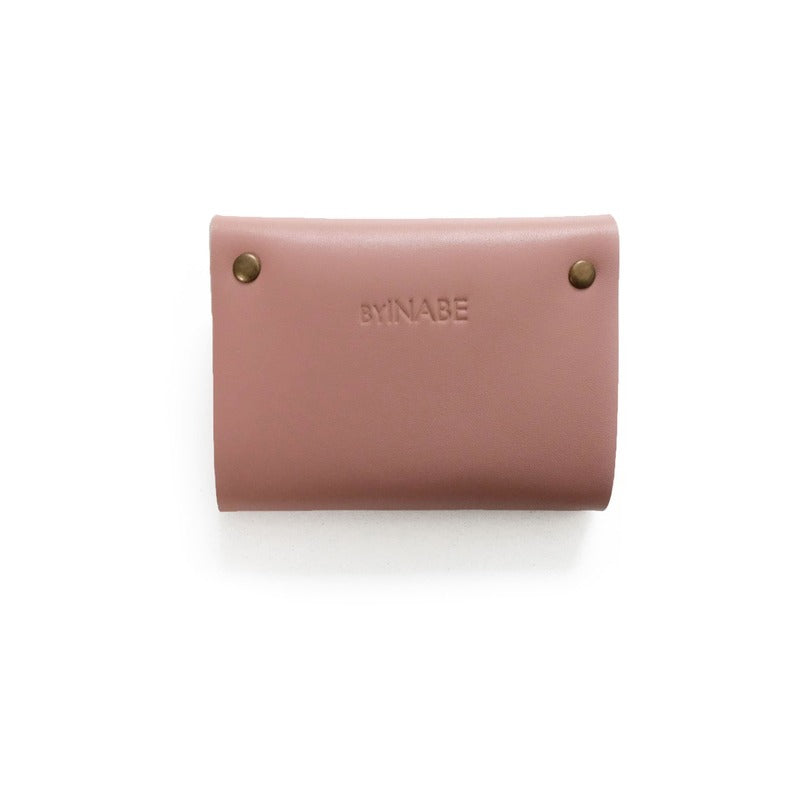 Scalloped Cardholder - Dusty Rose