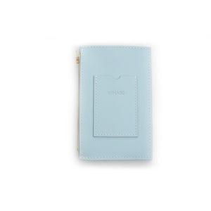 XL Powder Blue Travel Purse (Cellphone Case)