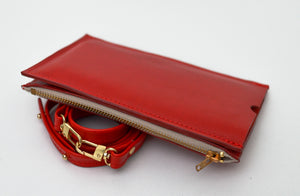 XL Red Travel Purse (Cellphone Case)