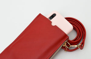 Red Travel Purse (Cellphone Case)