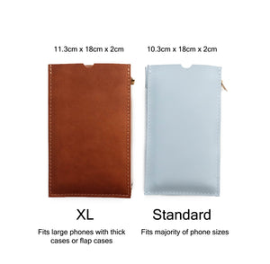 Two Sizes of Travel Purse (Cellphone Case)