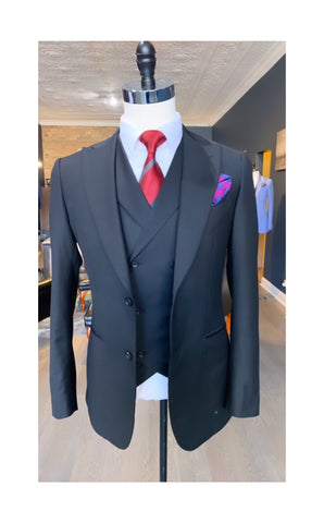 Black stallion 3 piece suit