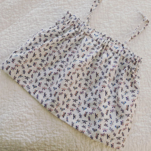 Summer top, size 3, flip flap fly