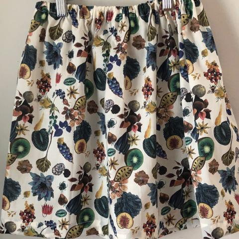 Liberty of London skirt, Floral Earth, Size 8