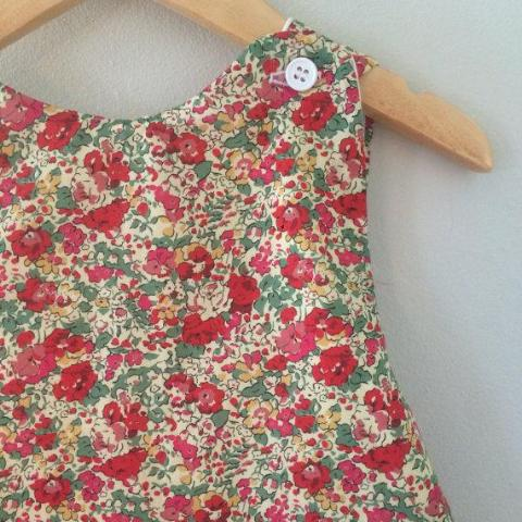 Claire Aude Pinafore: Liberty of London, Size 3-4