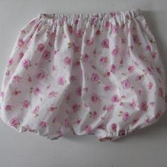 Liberty of London Bloomers: Pink Roses, Size 12 months
