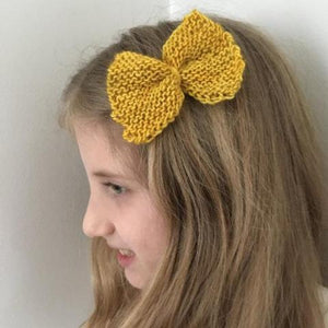 Bow Barrette, Yellow