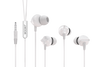 Wooky Beatz-Basic Earphones with Mic (White)