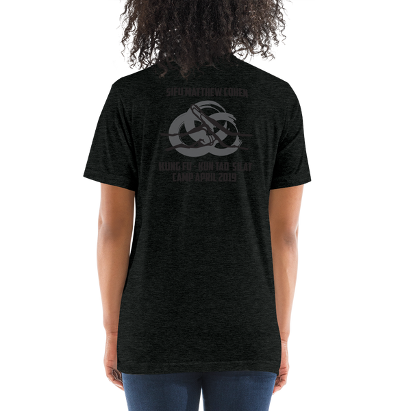 Martial Arts Camp 2019 - Premium Triblend Unisex (Black/Grey)