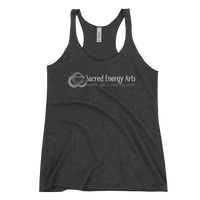 SEA martial arts . yoga . qigong Women's Racerback Tank