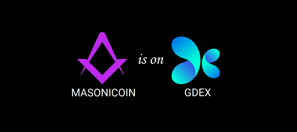 Trade Masonicoin on GDEX