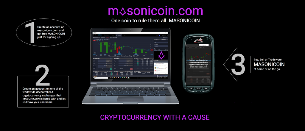 Masonicoin is no secret anymore