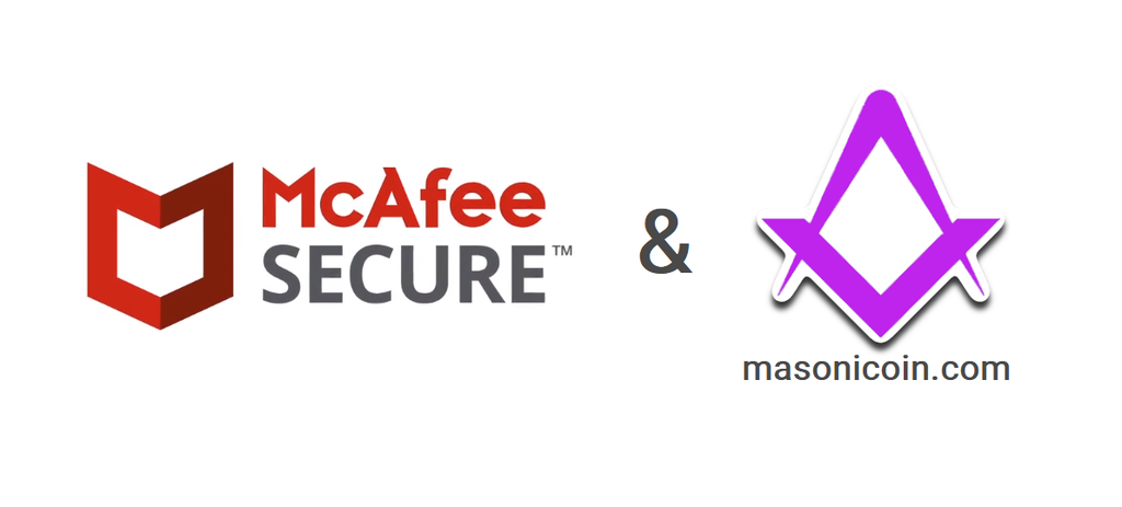 McAfee Provides Masonicoin Identity Protection