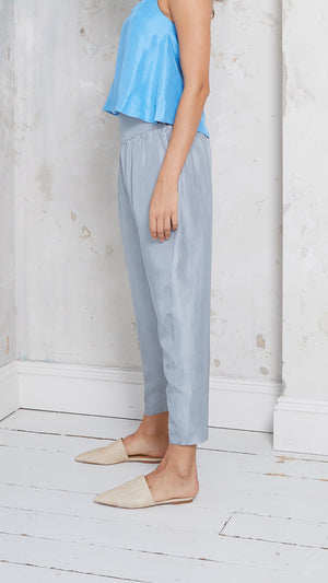 silk harem trousers