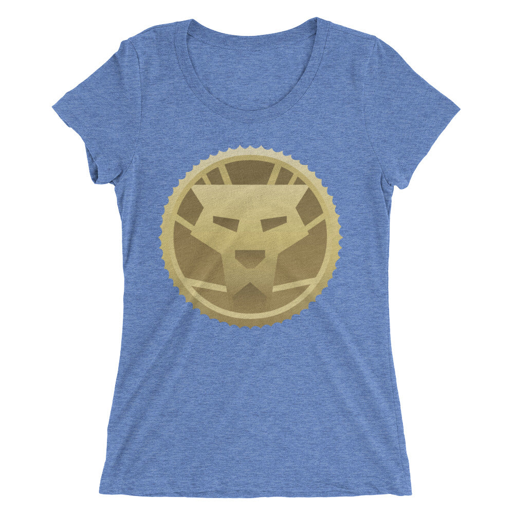 Gold Orignal Logo Ladies' short sleeve t-shirt