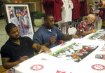 Return to Power Signing Event with Glen Coffee,  Antoine Caldwell, and Rick Rush
