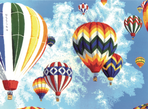 Riding the Wind: Hot-Air Ballooning