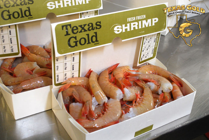 Jumbo Shrimp (21/25) 5 lb Box $9.00/lb