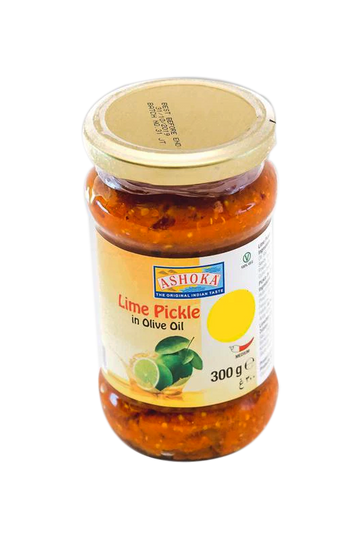 Ashoka Lime Pickle in Olive Oil 300g