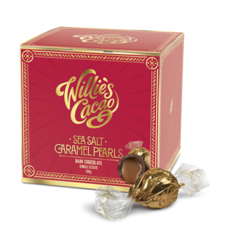 Willie's Sea Salt Caramel Pearls (150 grams)