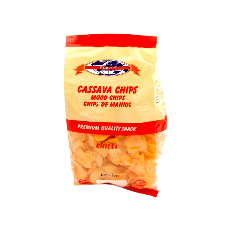 Chilli Cassava Chips
