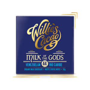 Willie's Cacao Rio Caribe Milk Chocolate (50g bar)