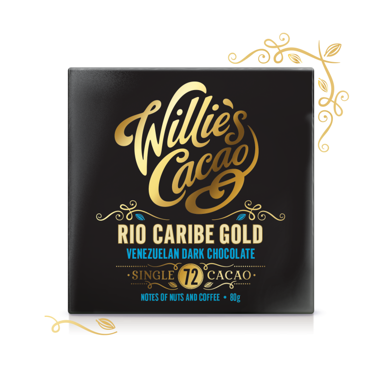 Willie's Cacao Rio Caribe Gold Dark Chocolate (50g bar)